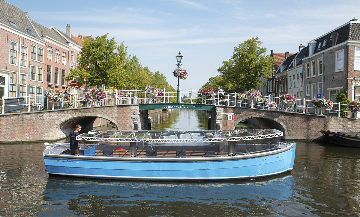 private tour in autumn and winter in Leiden